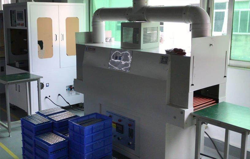 Battery packing machine