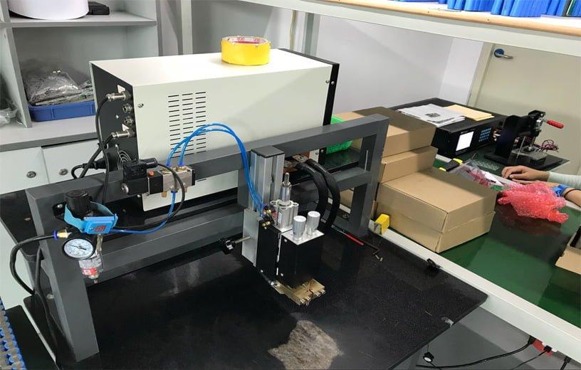 Battery protect board machine