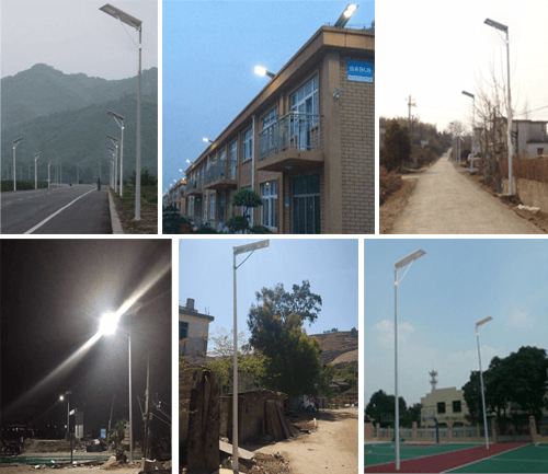 GES SOLAR STREET LIGHTS