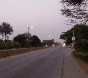 GES Solar Street Lamp