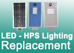 Outdoor Integrated Solar LED Lights