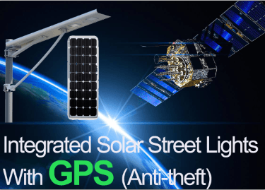 Anti-theft Integrated Solar Street Lights