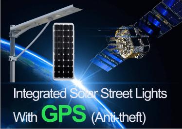 Anti-theft Integrated Solar Street Lights