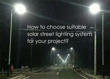 How to design solar street lighting system for project? u2013 ges solar