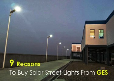 9 reasons to buy solar street lights from GES