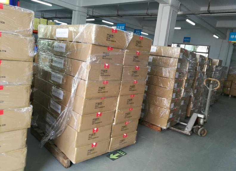 fast delivery time for solar lights