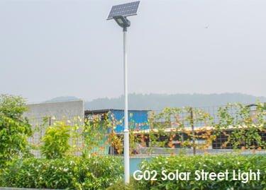 Solar street light in Uganda