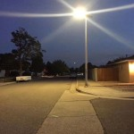 GES Ultrathin All-in-one Solar Street Light 60W with 7m 02